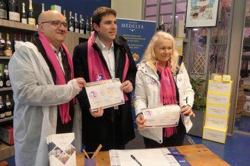 Signature du partenariat relais avec le club les Rabelaisiennes de Rungis